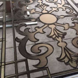 [روس] نوع ذهب لون معدن [ستينلسّ ستيل] [3د] لوح لأنّ جدار [كلدّينغ] الصين مموّن