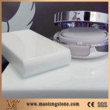 白いNano結晶させたガラスパネルの石のカウンタートップ