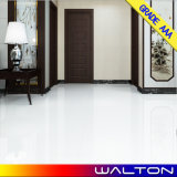 Material de construção Azulejo de telha de porcelana polida super-branca vitrificada Azulejo de azulejo de porcelana polida (PC001)