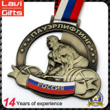 新製品の2017年のロシアの重量挙げのスポーツメダル
