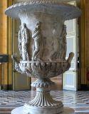 Sculptures de Pierre à l'intérieur STATUE Marbre Pot de fleurs