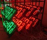 Muestra del cambiador del precio del gas de 6 pulgadas LED (NL-TT15SF9-10-3R-Blanco)