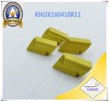 鋼鉄&#160のためのCutoutil Knux160410r11; Ckjnrのツールのための炭化物の挿入