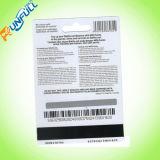 Carte de carte à puce RFID à 13,56 MHz Carte de membre à puce intelligente sans contact