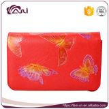 Piccole borse di cuoio casuali quadrate dell'unità di elaborazione di Crossbody di vendita della farfalla di disegno del raccoglitore caldo delle donne