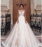 2018 de Toga Prom die van de Bal de Bruids Kleding Wj001 gelijk maakt van het Huwelijk