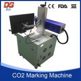 Máquina caliente del CNC de la marca del laser del CO2 del estilo 60W para el vidrio
