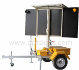 Hot Sales Achetez 2017 OEM As4192 Solar Power Portable Outdoor Traffic Control LED Directional Arrow Board Trailer