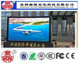 P8 im Freien farbenreiche LED Baugruppen-Bildschirm-Bildschirmanzeige 256mm*128mm