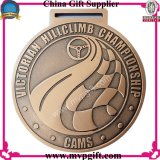 Medaille van de Sporten van het metaal 3D voor de Gift van de Medaille van de Toekenning