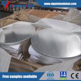 Círculo de alumínio para o Cookware, iluminação do revestimento do moinho, refletor, decoração