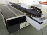 Máquina de alta calidad de la tinta UV de cama plana de cristal Impresión
