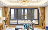 Doppia finestra di scivolamento di alluminio di vetro Tempered con lo schermo degli ss