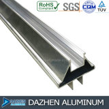 Profil en aluminium d'extrusion pour le tissu pour rideaux de porte de guichet du Nigéria