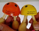 Santé promotionnelle Ladybird Hand Hold SPA Fille Body Massage Tools Wood (JMHF-23)