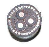 Cabo distribuidor de corrente de alumínio de baixa tensão Yjlv32, fio de aço blindado