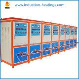Supersónica de frecuencia de calentamiento por inducción de recocido máquina de laminado en frío de barras de refuerzo Línea de Producción