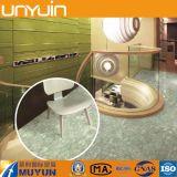 Azulejo de suelo de piedra auto-adhesivo del vinilo del PVC del hogar