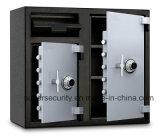 Flh2731ccすべて2つのダイヤル錠、0.37cbm、黒および灰色が付いている鋼鉄保管所の金庫