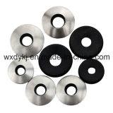 Acier inoxydable 304 316 rondelles métallisées de joint avec le néoprène EPDM