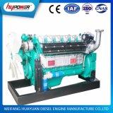 Weichai 6 실린더 물은 1500 분당 회전수 300HP/220kw 엔진 모터 냉각했다