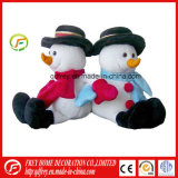Jouet chaud de bonhomme de neige de peluche de vente pour le cadeau de promotion de bébé