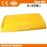 Amarelo Aço Reforced Rampa do Freio Portátil