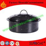Utensílios de cozinha Pote de estoque de aço inoxidável de aço carbono