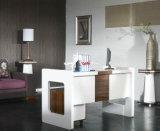 Bureau en bois moderne blanc d'ordinateur de gestionnaire de meubles de bureau (HX-0078)