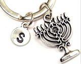 Anello chiave di Keychain del metallo della bandierina