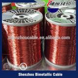 Alambre de aluminio revestido de cobre esmaltado