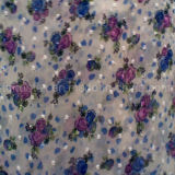 Poliéster Jacquard Chiffon para Lady Dress and Shirt Cloth