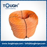 Fibra 100% resistente de Uhwmpe da corda da corda sintética do guincho Orange9.5mmx30m4X4