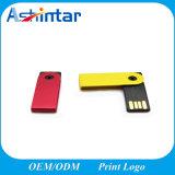 USB impermeable Pendrive del eslabón giratorio del mini del metal del USB mecanismo impulsor del flash