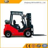 中国赤い2500kgはフォークリフト市場の燃料Gasoline/LPGの二倍になる