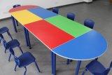 Doppeltes kombinierter Kursteilnehmer-Tisch und Stuhl-Schule-Schreibtisch (BZ-0152)