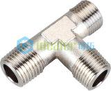 Ajustage de précision pneumatique en laiton nickelé avec du ce (RB03-06)