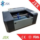Taglio del laser di Jsx5030 35W macchina per incidere del laser del cuoio del tessuto sulla piccola