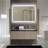 Custom Hotel Bevel Edge Anti Fog Bath Miroir à LED