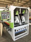 Máquina de calibragem e de lustro da madeira compensada da máquina de lixar