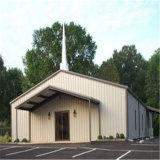 Constructions d'église préfabriquées de structure en métal avec Nice le modèle