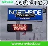 Limite de vitesse variable fixe Centres de messages électroniques Panneaux de signalisation Écran LED, affichage LED P10 Extérieur