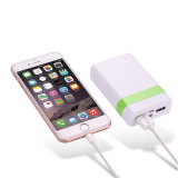4000mAh Portable Power Bank Mobile Power Charger com luz LED