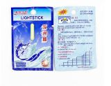 Lo10bag 4.5*37mm多色刷り釣浮遊物の蛍光Lightstickライト夜浮遊物棒は釣または党のための暗い白熱棒をつける