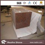 Mattonelle rosse del rivestimento della pavimentazione e della parete del granito dell'acero Polished G562