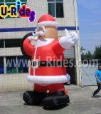 Noël gonflable Santaman pour la publicité