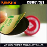 etiqueta elegante escribible de la etiqueta engomada NFC de la seguridad 13.56MHz
