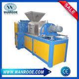 Film plastique de rebut serrant la machine de asséchage et de granulation