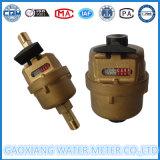 Compteur d'eau à pistons volumétriques en laiton