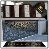 Porta de entrada principal de alumínio da vida moderna